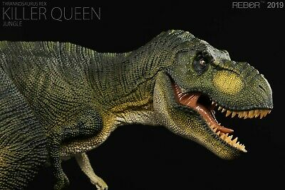 REBOR 1/35 Tyrannosaurus Rex T-Rex Killer Queen Dinosaur Model Animal Decor Toy 2