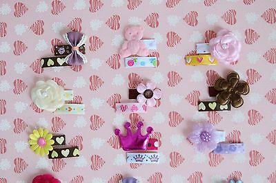 Baby Haarspange 2 er Set Haarklammer Hello Kitty Cat rosa Haarclips