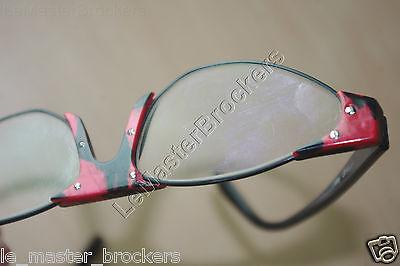 11 sur 12 Deffaugt Lunettes monture plastique noir rouge optique vue soleil  Vintage 3942c2cd0d53