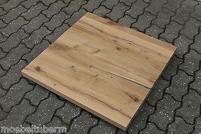 tischplatte couchtisch platte eiche massiv holz leimholz brett mit 2x baumkante chf. Black Bedroom Furniture Sets. Home Design Ideas