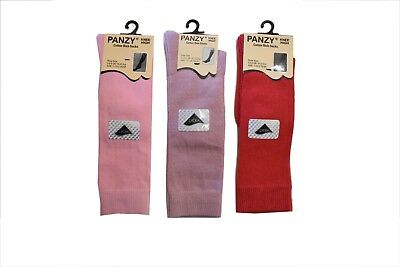 3 Pairs Baby Girls/Boys Unisex Kids Plain Knee High Socks Party School Stockings 4