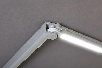 Alu LED Leiste mit Farbwechsel Kassettenmarkise Markise Vollkassettenmarkise