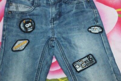 Hose kinder Hose Jeans gerissen von DOPODOPO Gr. 110 Top wie NEU mit Stickerei 2