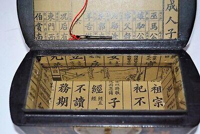 Truhe Kisten Box Schmuckbox Schatulle Holz chinesische Möbel Schatzkiste Vintage 6