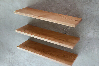 Mobel Wohnen 3x Wandboard Eiche Massiv Holz Board Regal