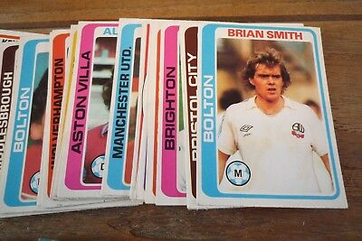 Topps Blue Back Football Cards 1979 - VGC - Pick The Cards You Need! Nos 300-396 3