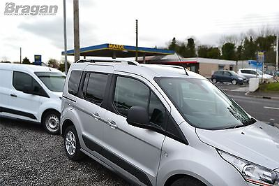To Fit 14+ Ford Transit Tourneo Connect LWB Aluminium Alloy Roof Rails Rack Bars 6