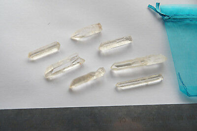 Medium Crystal Points Lemurian Seed Quartz 20g pack of Crystal Barcode Wands