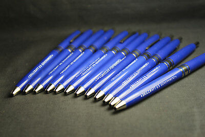 12 Pack Skilcraft Retractable Ball Point Pens Blue Ink Fine Point US Government 5