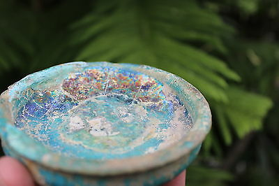 Mysterious tool, genuine, Islamic glazed bowl, 1300-1400 AD 11
