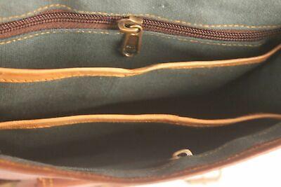 Aktentasche Umhängetasche Lehrertasche Schultasche Leder Tasche spitze Indian 5