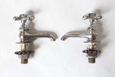antique faucet bathroom sink | standard vtg victorian bathroom plumbing deco 11
