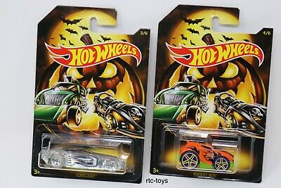 Hot Wheels Halloween 2019 Edition Set Of 6 Cars In Stock Now! Holiday Series 3
