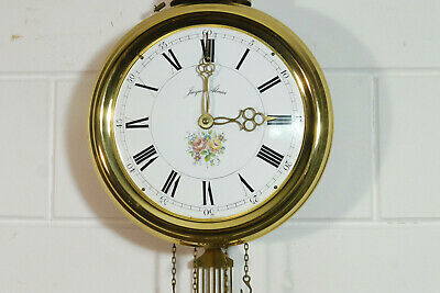 Old Comtoise Wall Clock Dutch Movement Vintage Old Clock 3