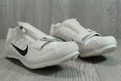NWOB Nike Zoom LJ Long Jump Track Spikes Men/'s 12 Black White