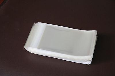 200 Adhesive Self Seal Resealable Clear Plastic Cellophane Bag 7x10cm+2cm Sydney 5