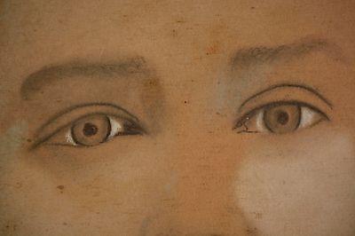 Stunning Antique Folk Art Portraits in Arts & Craft Original Frames. BEAUTIFUL! 10