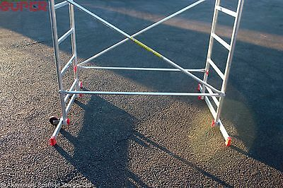 Super eDIY Aluminium Scaffold Tower - 5m Reach height - 3m Platform height 6