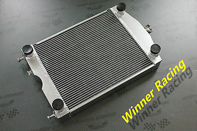 aluminum radiator Ford 2N/8N/9N tractor w/flathead V8 engine high performance