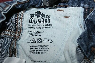 Hose kinder MARKEN Jeans gerissen ORIGINAL CLD 1976 COLORADO Gr. 110 TOP 4
