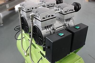 310L/min Dental Noiseless Oilless Air Compressor GA-82 60L 1-Driving-4 Stable CE 5