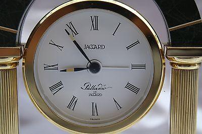 Magnificent French Quartz Jagard Alarm Table Clock 3
