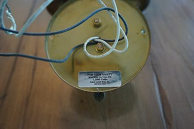 Conant Metal and Light of Vermont Real Brass Sconce 3