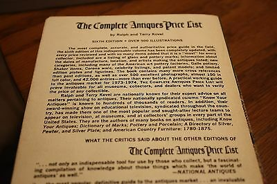 The Complete Antique Price List Ralph & Terry Kovel