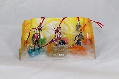 Disney Authentic Ant Man /& The Wasp Christmas Ornament 6pc Set Marvel Super Hero