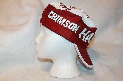 the latest 4c443 a9283 ... Harvard Crimson Hat NCAA Painters Cap Vintage New Old Stock 2
