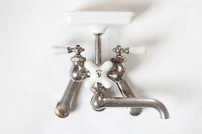 antique faucet kitchen sink | chicago vtg mixing faucet shower victorian deco 2