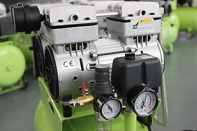 310L/min Dental Noiseless Oilless Air Compressor GA-82 60L 1-Driving-4 Stable CE 7