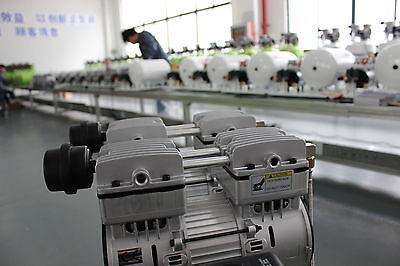310L/min Dental Noiseless Oilless Air Compressor GA-82 60L 1-Driving-4 Stable CE 8