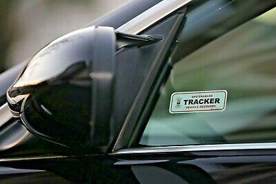 2 x GPS TRACKING WINDOW STICKERS, VEHICLE CAR VAN DETER THEFT STOPLOCK DISKLOK 5