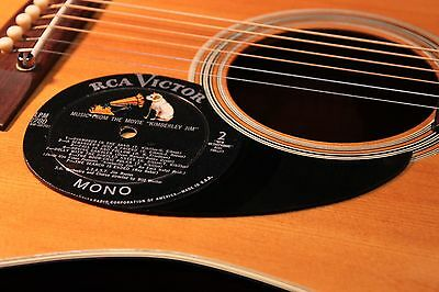 Retro Album Art Record Grooves LP Pickguard Acoustic Guitar Vintage scratchplate