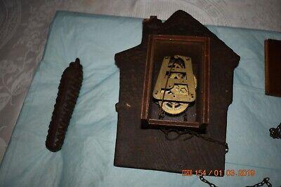 Antique cuckoo clock rare for project 3