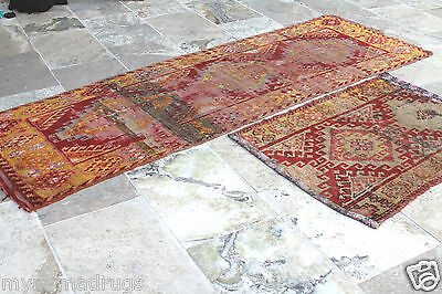 Stunning Antique Tribal Divan Dowry Runner Pile Rug c1920s Collector item Turkey 4