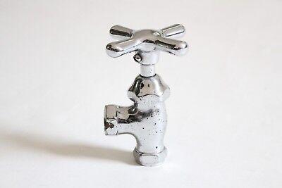 antique faucet shut off angle valve | vtg deco victorian bath plumbing cross 4