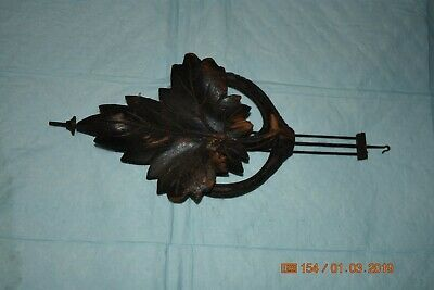 Antique cuckoo clock small pendulum for project 6