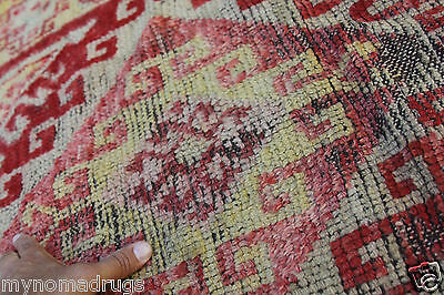 Stunning Antique Tribal Divan Dowry Runner Pile Rug c1920s Collector item Turkey 8