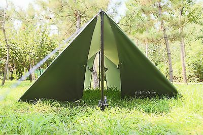 1 of 7FREE Shipping Waterproof Sunshade Tent Tarp Rain Fly Awning Outdoor C&ing Hammock 10 x 12FT : fly tent - memphite.com