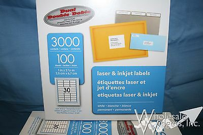 10 BOXES, 30K Avery 5160 Template Address Labels, PRES-a-ply Brand Made By  Avery