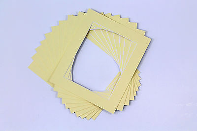 Photo/Picture Mounts / Frame Mounts / Various Size / Colours PACK OF 10 - A4 A3 2