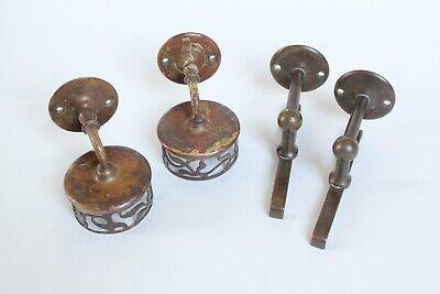 antique bathroom cup tumbler holder shelf supports | jl mott vtg deco victorian 3