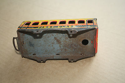 A beautiful  OLD TINPLATE TOY as a  DESK or BOOKCASE ORNAMENT Hornby 'O' gauge a 3