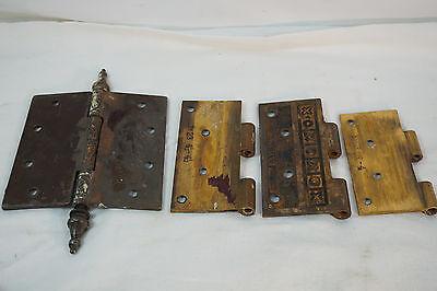 Antique Door Hinges Aesthetic Hardware Victorian Lot Steeple 1877 Singles 8