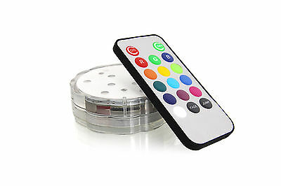 LED Unterwasserlicht Stimmungslicht Wasser Beleuchtung Farbwechsel Fernbedienung 5