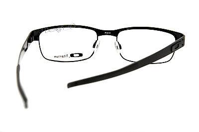 ... Oakley METAL PLATE OX5038-0555 Matte Black Titanium Eyeglasses 55 18 140  - ef31e2e337