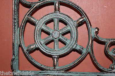 (2),marine Decor,antique Look,corbels, Shelf Brackets, Beach Decor, B-31 5
