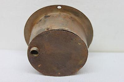 """Vintage Antique DEXTER 5 1/2"""" Steel Drain Stop Cover - Art Deco Design Steampunk 5"""